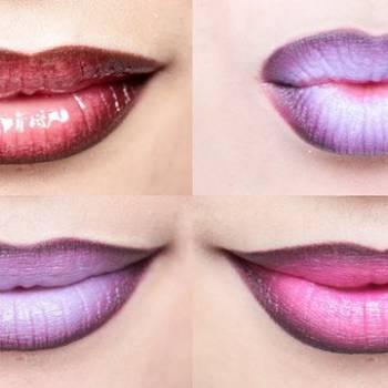 4 варианта яркого макияжа губ – Макияж #5