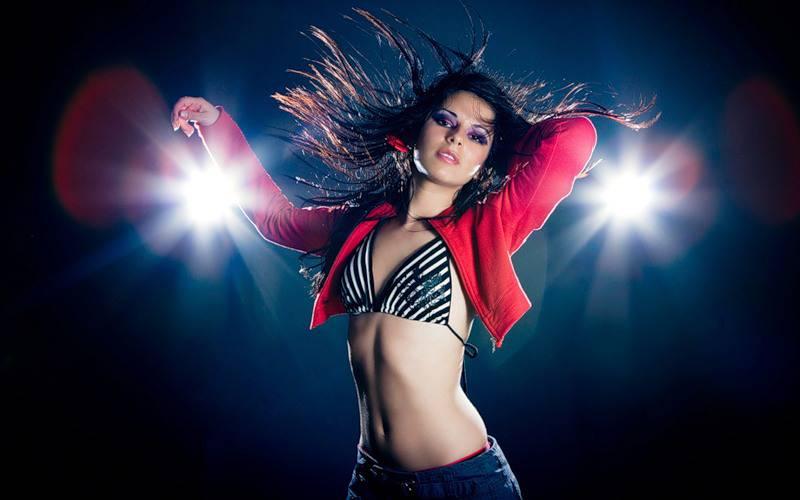 Макияж для танцев: дискотека, бал, латинос