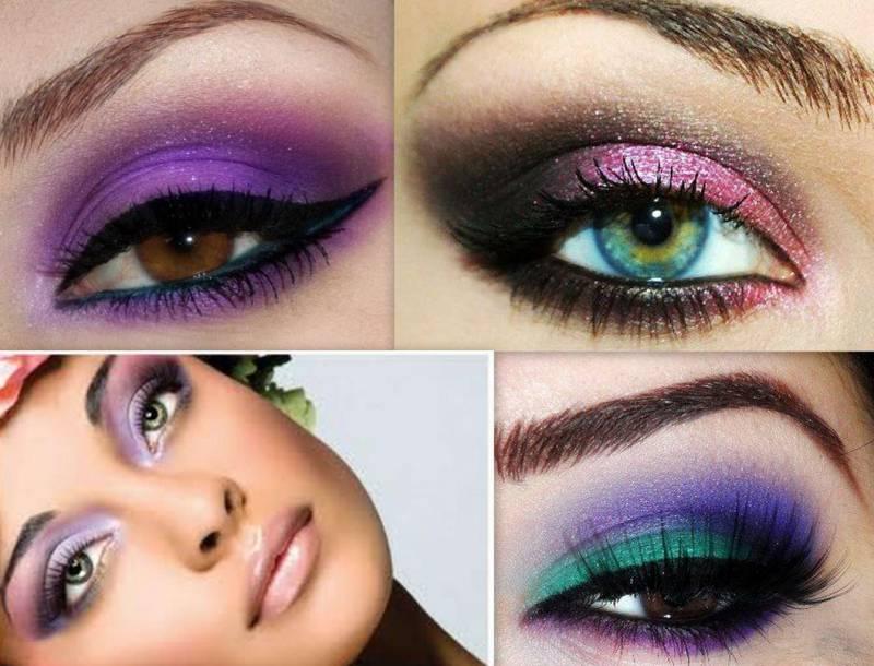 Макияж глаз. Пять этапов нанесения макияжа. Часть 2