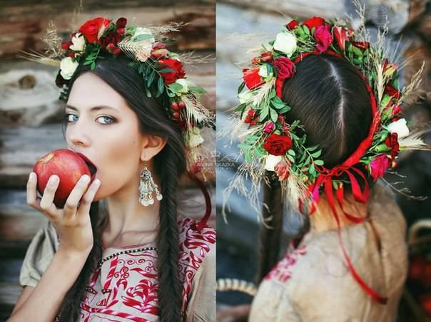 Макияж русской красавицы