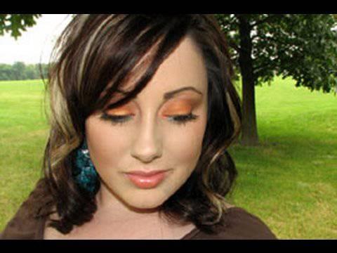 Летний макияж: Закат над океаном
