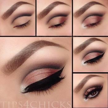 Макияж глаз «Волна» – Макияж #12
