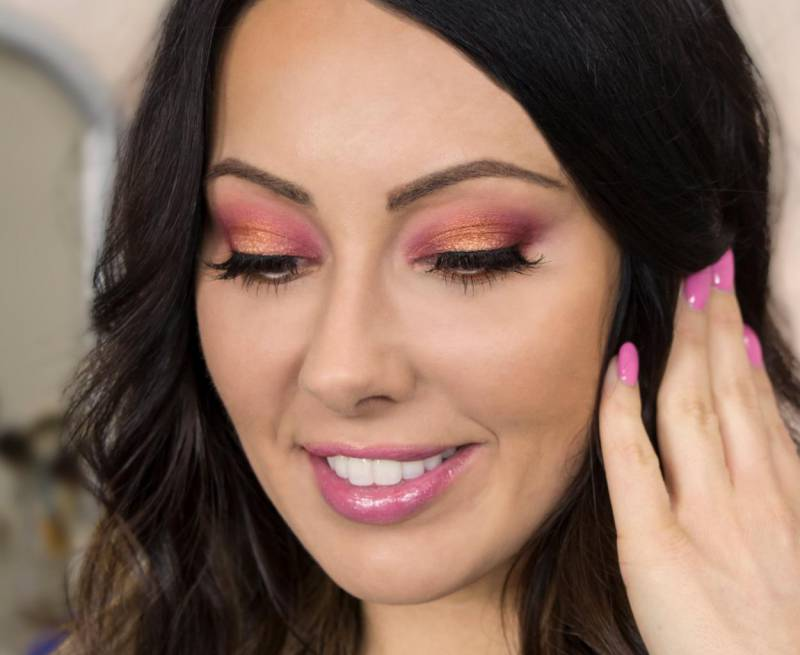 Гламурный макияж в домашних условиях