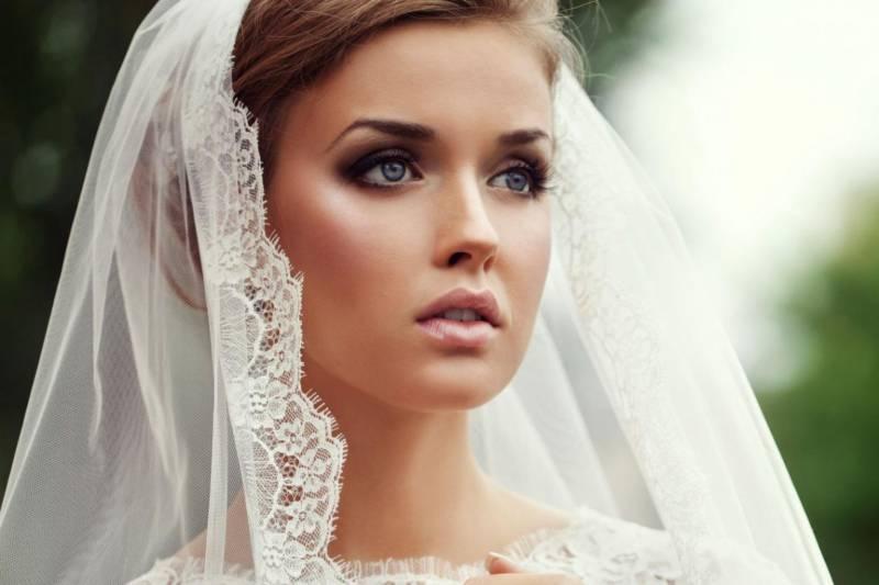 Красивый свадебный макияж-фото