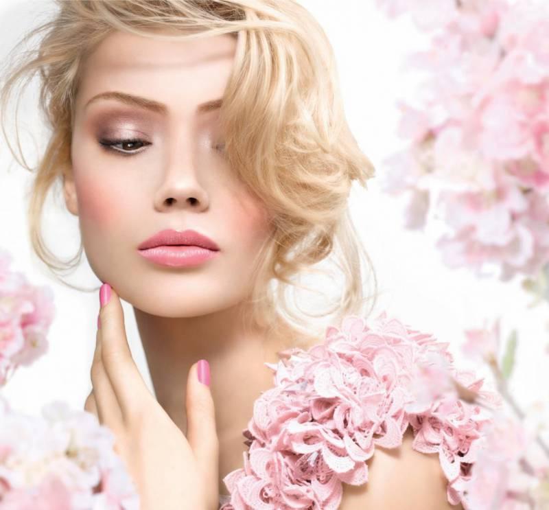 Нежный макияж на день святого Валентина