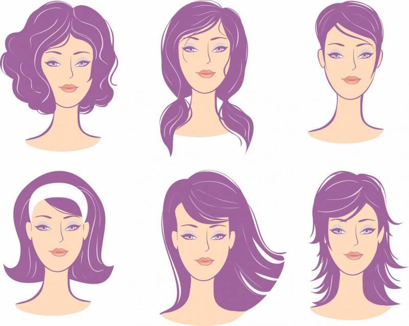 Типы женского лица