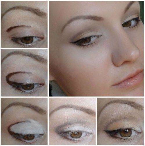 Красивый макияж для серых глаз: уроки и пошаговые