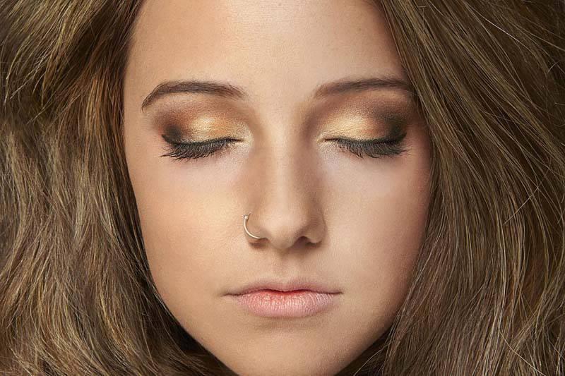 красивый макияж для карих глаз