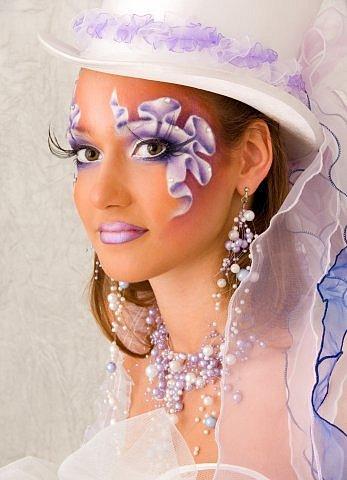 Фантазийный макияж не