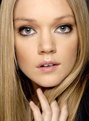 макияж глаз для русых с серыми глазами