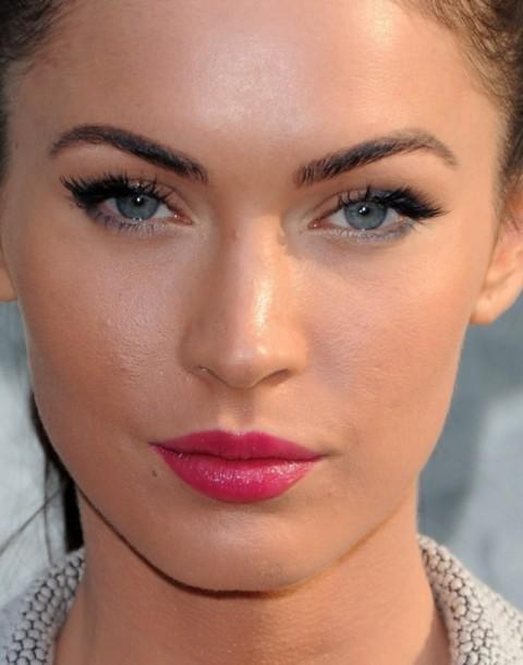 макияж глаз Меган Фокс