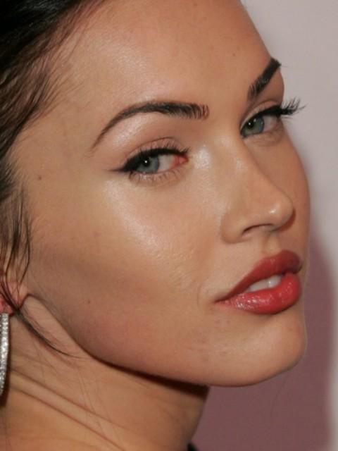 повседневный макияж меган фокс