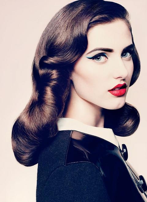 макияж в стиле чикаго 20-х годов